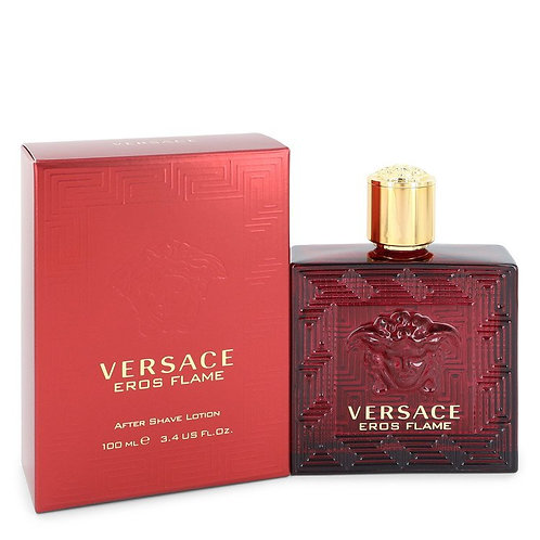 Versace Eros Flame by Versace 3.4 oz After Shave Lotion