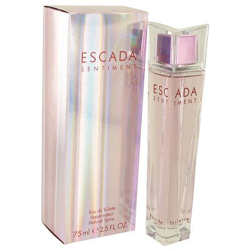 Escada Sentiment by Escada 2.5 oz Eau De Toilette Spray
