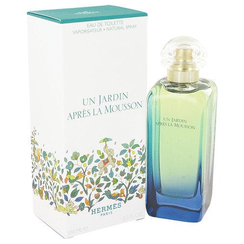 Un Jardin Apres La Mousson by Hermes 3.4 oz Eau De Toilette Spray (Unisex)