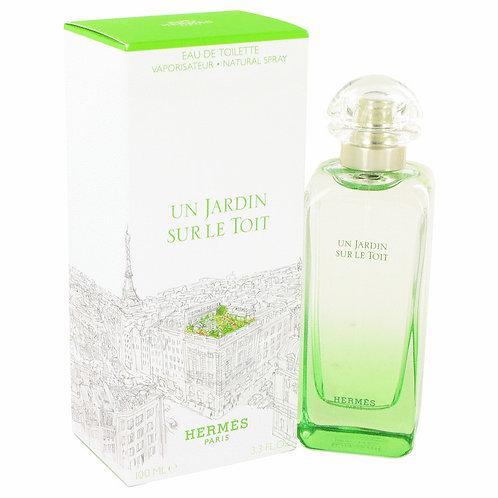 Un Jardin Sur Le Toit by Hermes 3.3 oz Eau De Toilette Spray