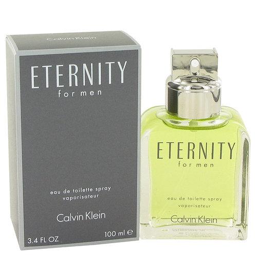 Eternity by Calvin Klein 3.4 oz Eau De Toilette Spray