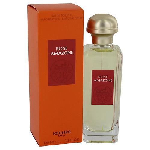 Rose Amazone by Hermes 3.3 oz Eau De Toilette Spray