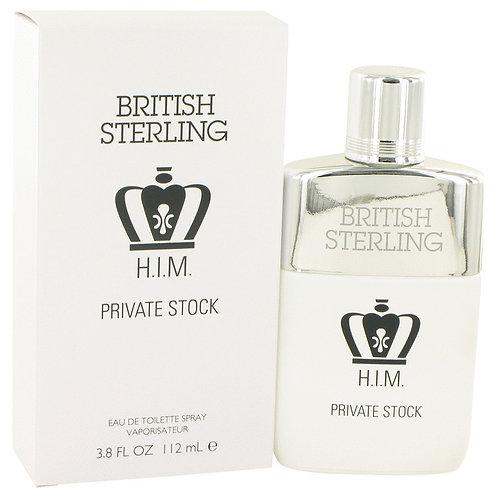 British Sterling Him Private Stock by Dana 3.8 oz Eau De Toilette Spray