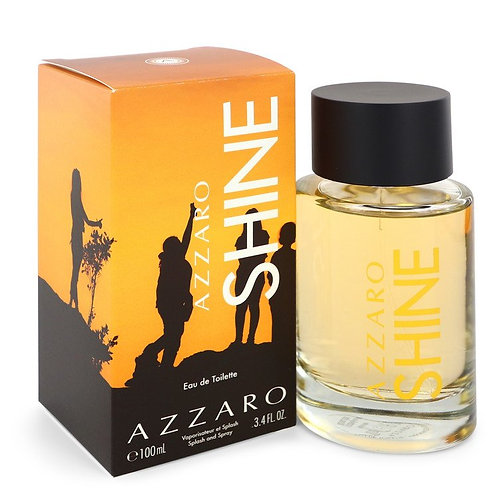 Azzaro Shine by Azzaro 3.4 oz Eau De Toilette Spray