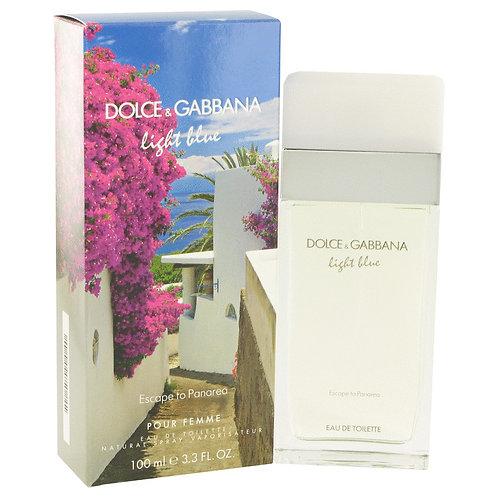 Light Blue Escape To Panarea by Dolce & Gabbana 3.3 oz Eau De Toilette Spray