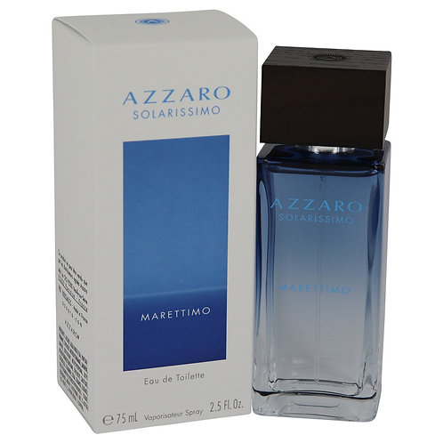 Azzaro Solarissimo Marettimo by Azzaro 2.5 oz Eau De Toilette Spray