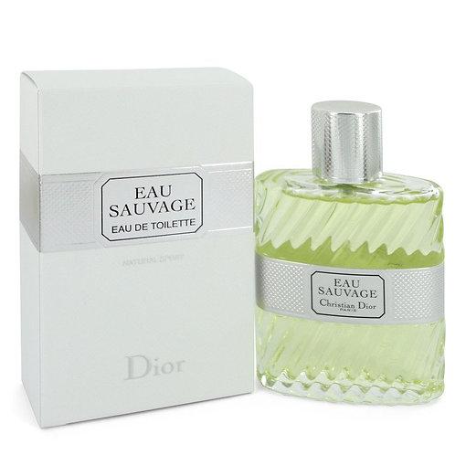 Eau Sauvage by Christian Dior 3.4 oz Eau De Toilette Spray