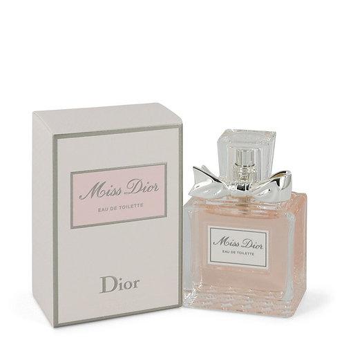 Miss Dior by Christian Dior 1.7 oz Eau De Toilette Spray (New Packaging)