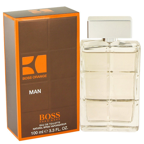 Boss Orange by Hugo Boss 3.4 oz Eau De Toilette Spray