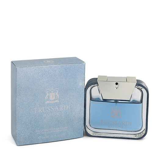 Blue Land by Trussardi 1.7 oz Eau De Toilette Spray