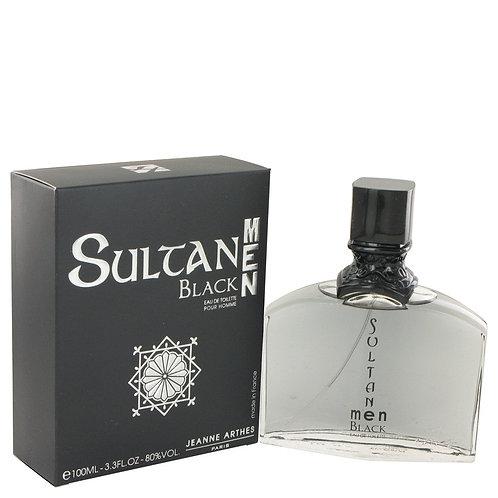 Sultan Black by Jeanne Arthes 3.3 oz Eau De Toilette Spray