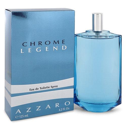 Chrome Legend by Azzaro 4.2 oz Eau De Toilette Spray