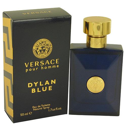 Versace Pour Homme Dylan Blue by Versace 1.7 oz Eau De Toilette Spray