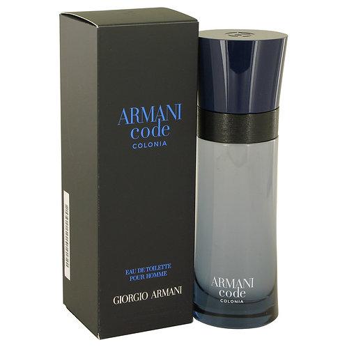 Armani Code Colonia by Giorgio Armani 2.5 oz Eau De Toilette Spray