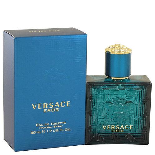 Versace Eros by Versace 1.7 oz Eau De Toilette Spray for men