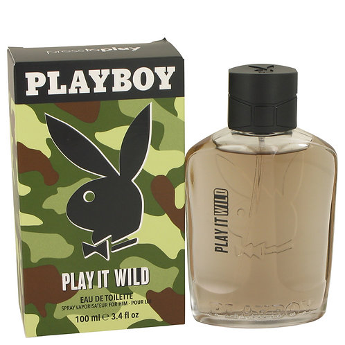 Playboy Play It Wild by Playboy 3.4 oz Eau De Toilette Spray