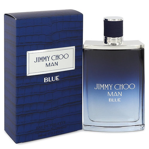 Jimmy Choo Man Blue by Jimmy Choo 3.3 oz Eau De Toilette Spray