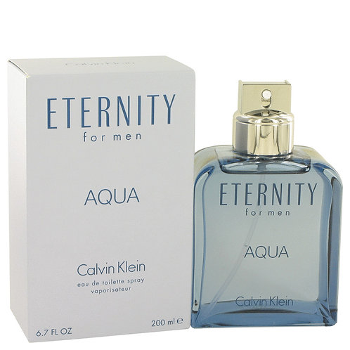 Eternity Aqua by Calvin Klein 6.7 oz Eau De Toilette Spray