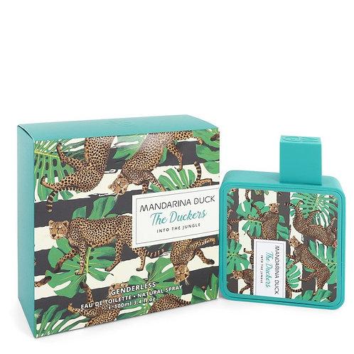 Into The Jungle by Mandarina Duck 3.4 oz Eau De Toilette Spray (Unisex)