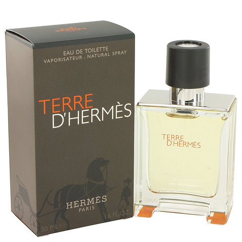 Terre D'hermes by Hermes 1.7 oz Eau De Toilette Spray