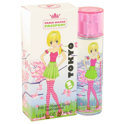 Passport In Tokyo by Paris Hilton 1 oz Eau De Toilette Spray