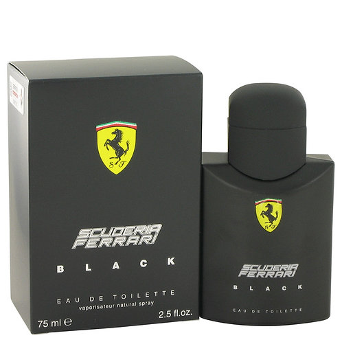 Ferrari Scuderia Black by Ferrari 2.5 oz Eau De Toilette Spray