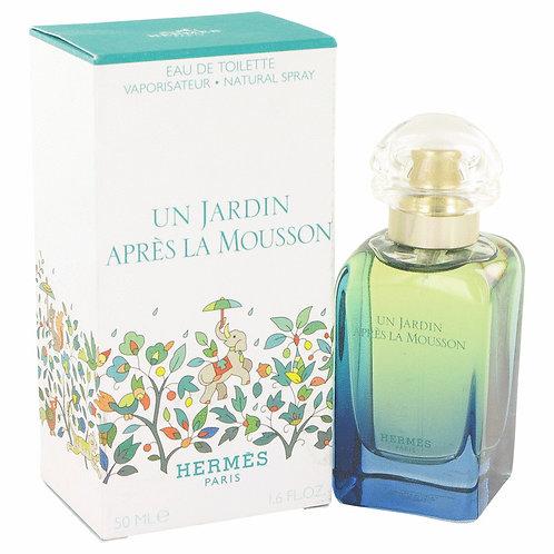Un Jardin Apres La Mousson by Hermes 1.7 oz Eau De Toilette Spray (Unisex)