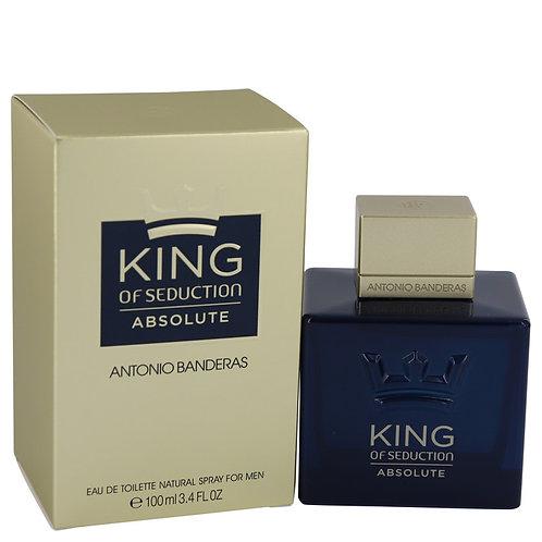King Of Seduction Absolute by Antonio Banderas 3.4 oz Eau De Toilette Spray