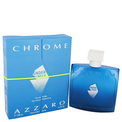 Chrome Under The Pole by Azzaro 3.4 oz Eau De Toilette Spray