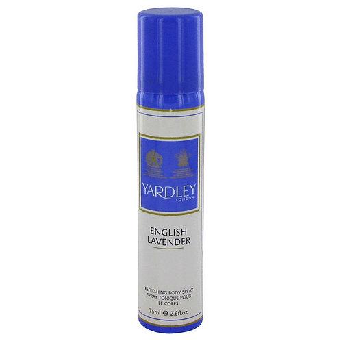 English Lavender by Yardley London 2.6 oz Refreshing Body Spray