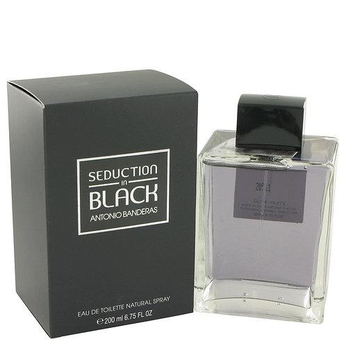 Seduction In Black by Antonio Banderas 6.8 oz Eau De Toilette Spray