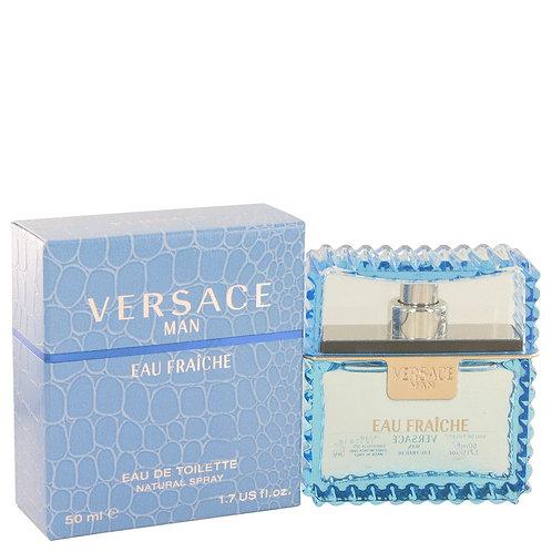 Versace Man by Versace 1.7 oz Eau Fraiche Eau De Toilette Spray (Blue) for men