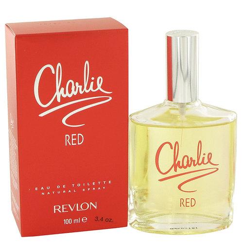 Charlie Red by Revlon 3.3 oz Eau De Toilette Spray
