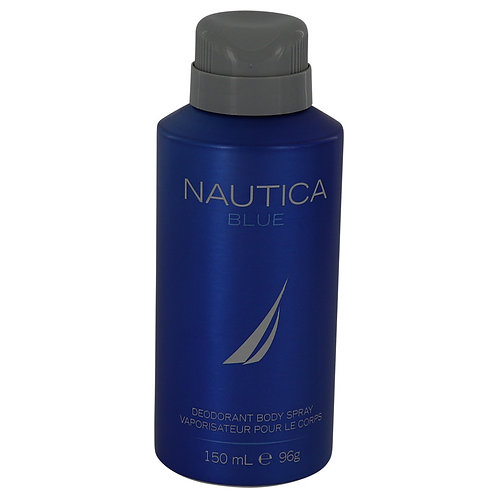 Nautica Blue by Nautica 5 oz Deodorant Spray