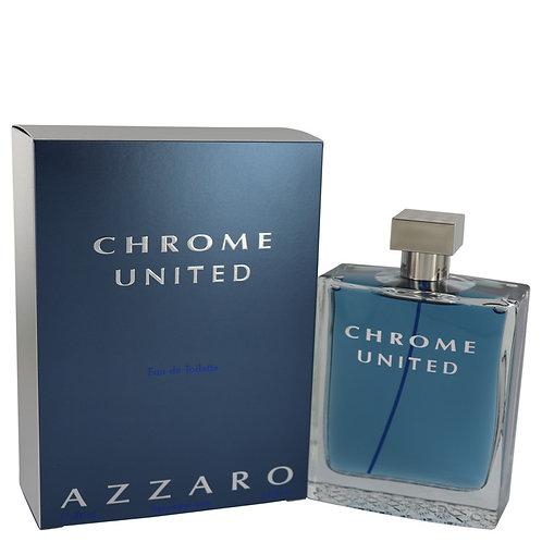 Chrome United Cologne by Azzaro 6.8 oz Eau De Toilette Spray