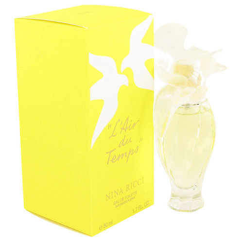 L'air Du Temps by Nina Ricci 1.7 oz Eau De Toilette Spray With Bird Cap for wom
