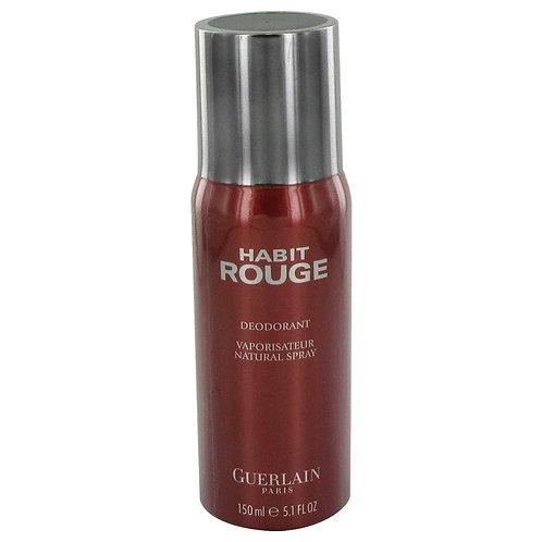 Habit Rouge by Guerlain 5 oz Deodorant Spray for men