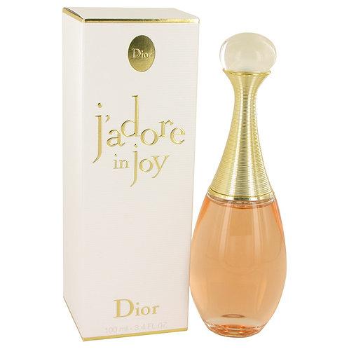 Jadore In Joy by Christian Dior 3.4 oz Eau De Toilette Spray