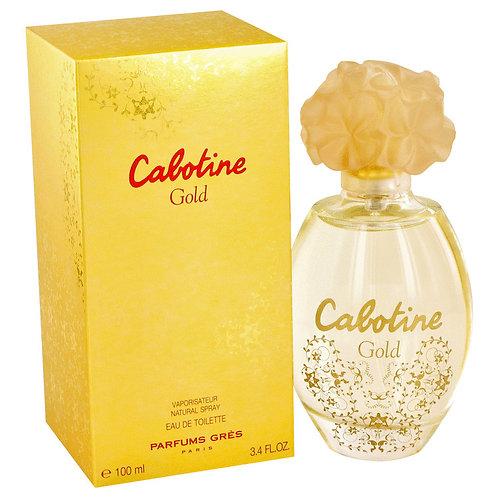 Cabotine Gold by Parfums Gres 3.4 oz Eau De Toilette Spray