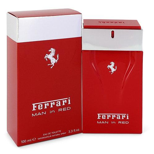 Ferrari Man In Red by Ferrari 3.4 oz Eau De Toilette Spray