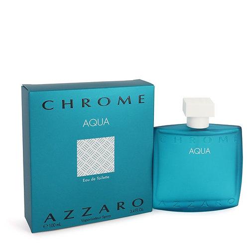 Chrome Aqua by Azzaro 3.4 oz Eau De Toilette Spray