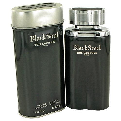 Black Soul by Ted Lapidus 3.4 oz Eau De Toilette Spray