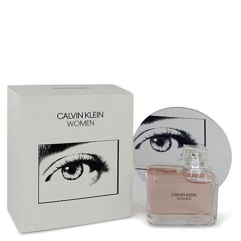 Calvin Klein Woman by Calvin Klein 3.4 oz Eau De Parfum Spray for women
