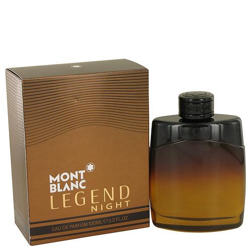 Legend Night by Mont Blanc 3.3 oz Eau De Parfum Spray