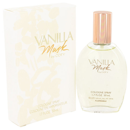 Vanilla Musk by Coty 1.7 oz Cologne Spray for women