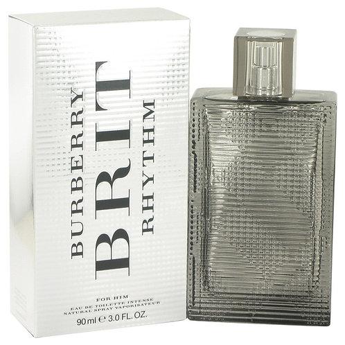 Burberry Brit Rhythm Intense by Burberry 3 oz Eau De Toilette Spray