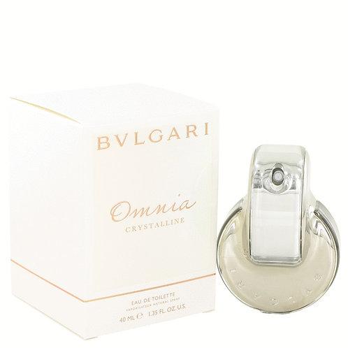 Omnia Crystalline by Bvlgari 1.35 oz Eau De Toilette Spray