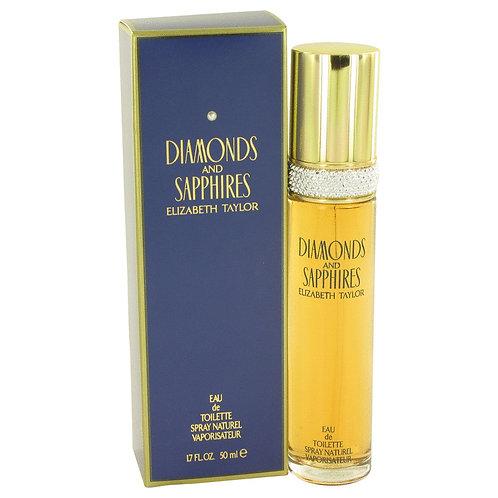 Diamonds & Saphires by Elizabeth Taylor 1.7 oz Eau De Toilette Spray