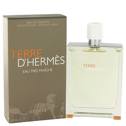 Terre D'hermes by Hermes 4.2 oz Eau Tres Fraiche Eau De Toilette Spray
