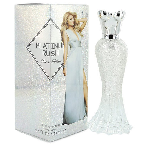 Platinum Rush by Paris Hilton 3.4 oz Eau De Parfum Spray